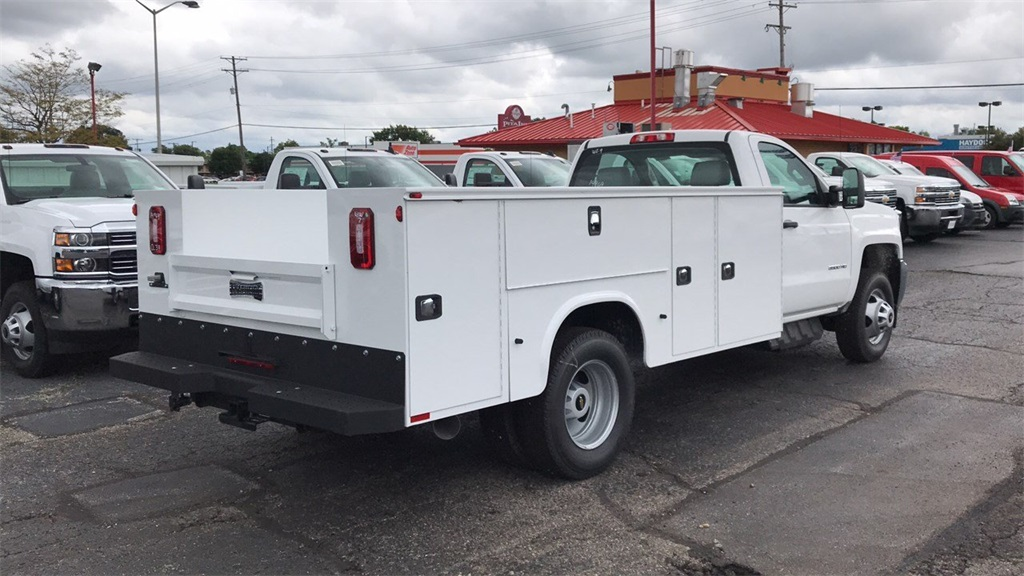2018 Silverado 3500 Regular Cab DRW 4x2,  Knapheide Service Body #CJF214969 - photo 2