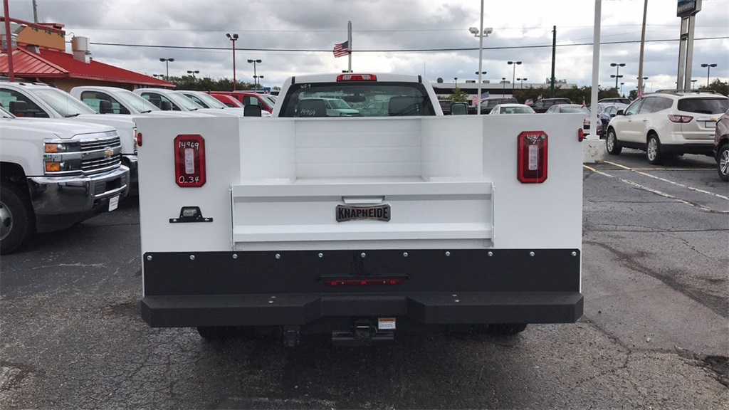 2018 Silverado 3500 Regular Cab DRW 4x2,  Knapheide Service Body #CJF214969 - photo 6