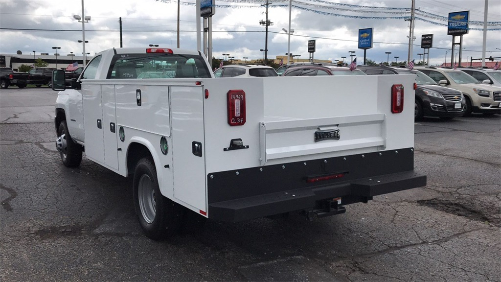 2018 Silverado 3500 Regular Cab DRW 4x2,  Knapheide Service Body #CJF214969 - photo 7