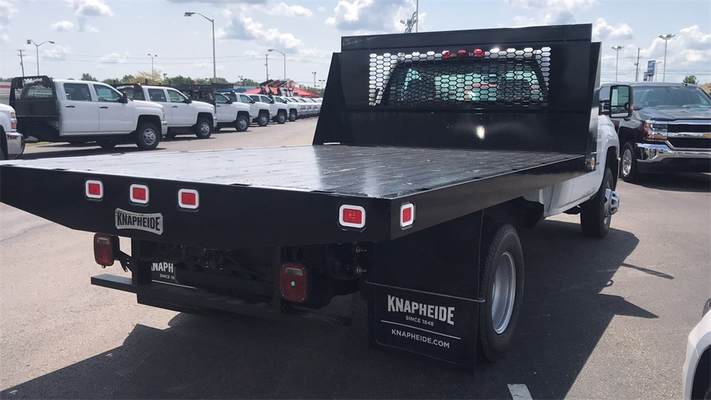 2018 Silverado 3500 Regular Cab DRW 4x2,  Knapheide Platform Body #CJF246794 - photo 13