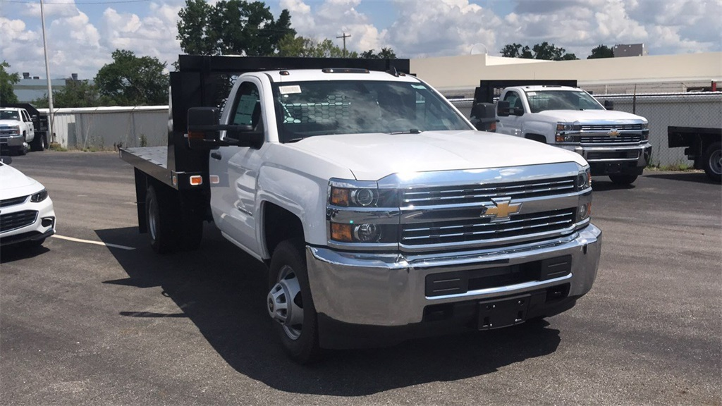 2018 Silverado 3500 Regular Cab DRW 4x2,  Knapheide Platform Body #CJF246794 - photo 6