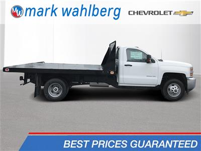 2018 Silverado 3500 Regular Cab DRW 4x2,  Knapheide Value-Master X Platform Body #CJF246794 - photo 1