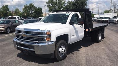 2018 Silverado 3500 Regular Cab DRW 4x2,  Knapheide Value-Master X Platform Body #CJF246794 - photo 6