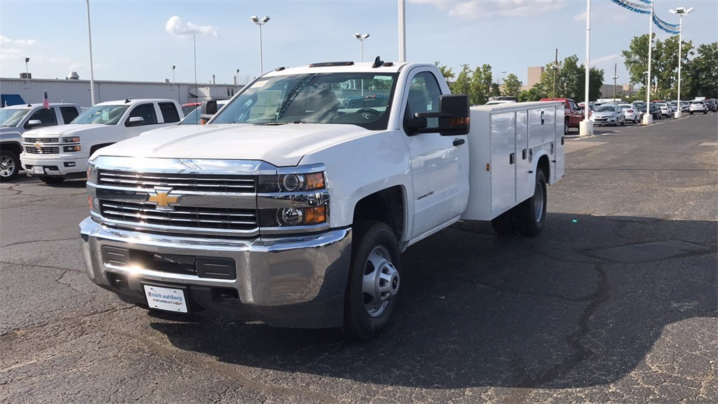 2018 Silverado 3500 Regular Cab DRW 4x2,  Knapheide Service Body #CJF247924 - photo 3