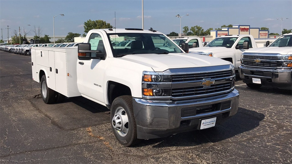 2018 Silverado 3500 Regular Cab DRW 4x2,  Knapheide Service Body #CJF247924 - photo 5