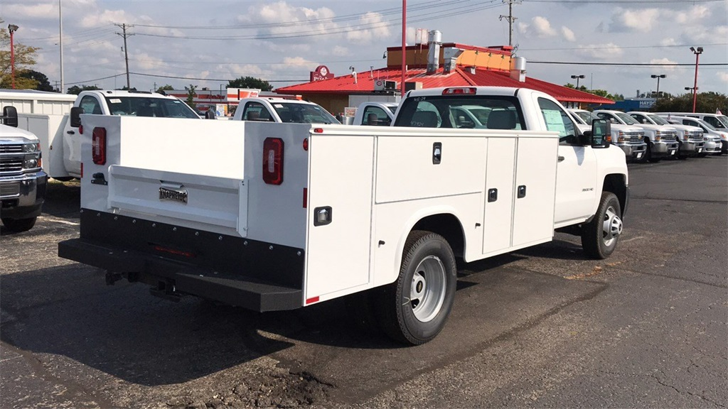 2018 Silverado 3500 Regular Cab DRW 4x2,  Knapheide Service Body #CJF247924 - photo 6