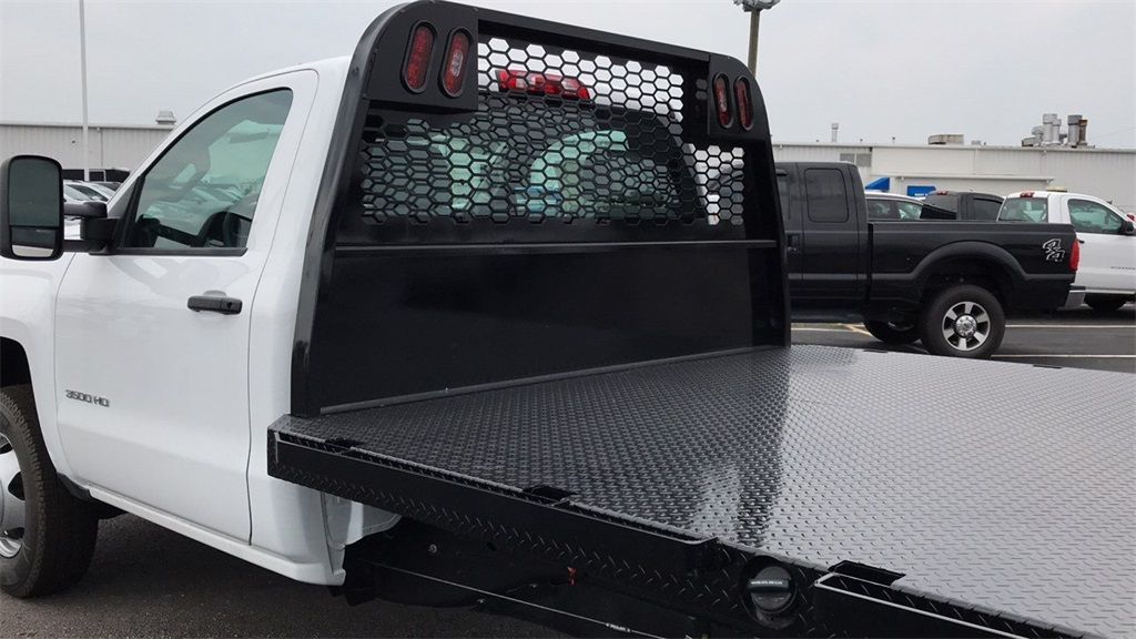 2018 Silverado 3500 Regular Cab DRW 4x2,  Knapheide Platform Body #CJF247953 - photo 11