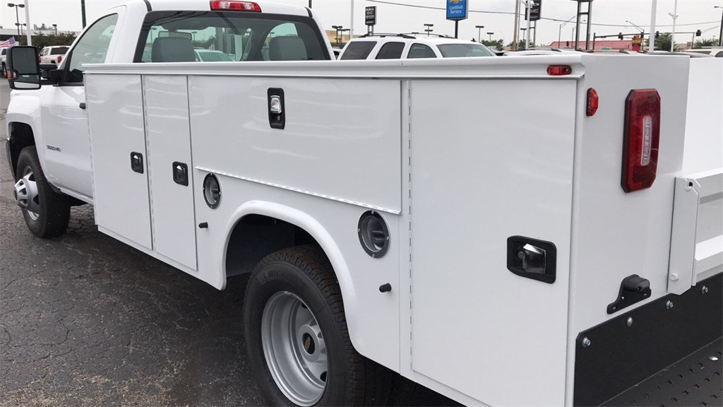 2018 Silverado 3500 Regular Cab DRW 4x2,  Knapheide Service Body #CJF248354 - photo 10