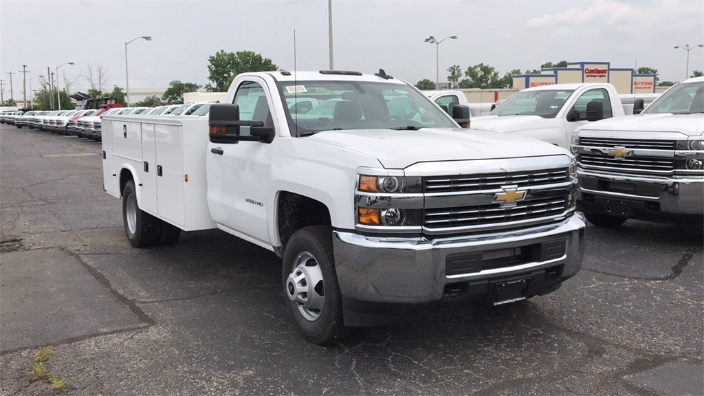 2018 Silverado 3500 Regular Cab DRW 4x2,  Knapheide Service Body #CJF248354 - photo 5