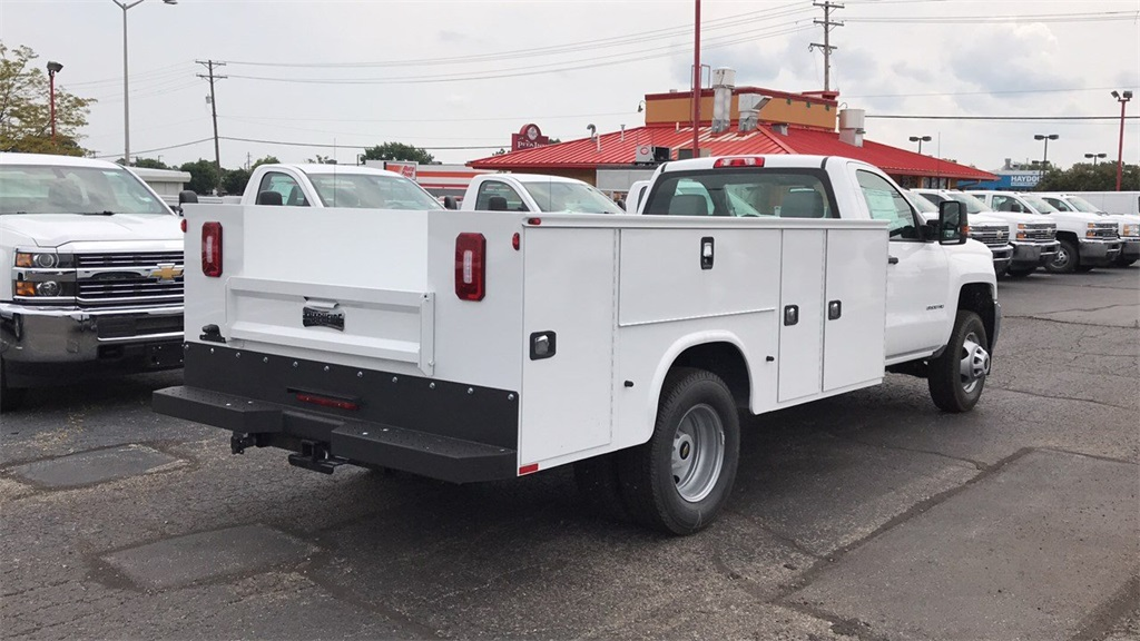2018 Silverado 3500 Regular Cab DRW 4x2,  Knapheide Service Body #CJF248354 - photo 6
