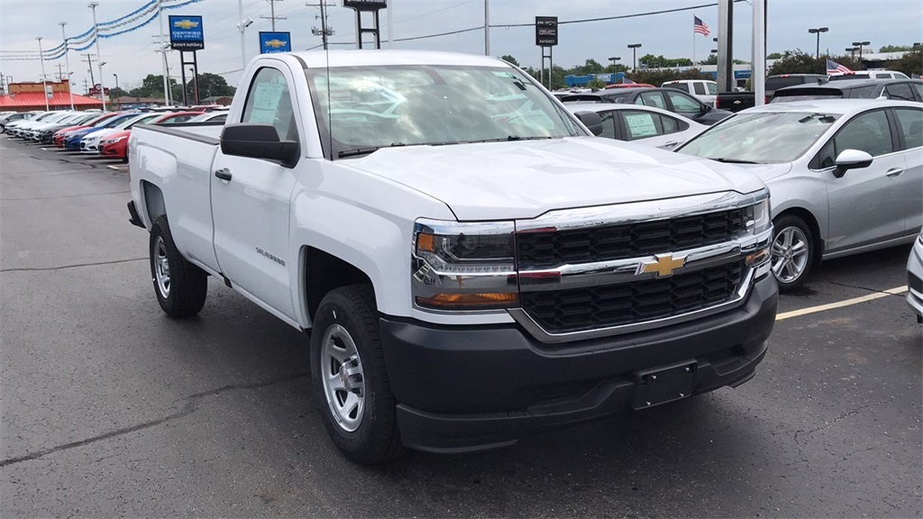 2018 Silverado 1500 Regular Cab 4x4,  Pickup #CJZ119142 - photo 5