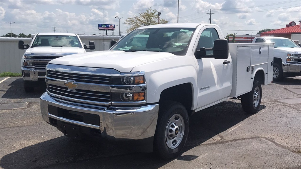 2018 Silverado 2500 Regular Cab 4x4,  Knapheide Service Body #CJZ127244 - photo 4