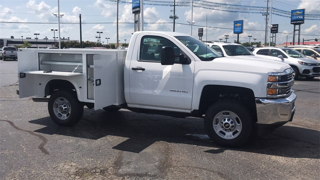 2018 Silverado 2500 Regular Cab 4x4,  Knapheide Service Body #CJZ127244 - photo 7