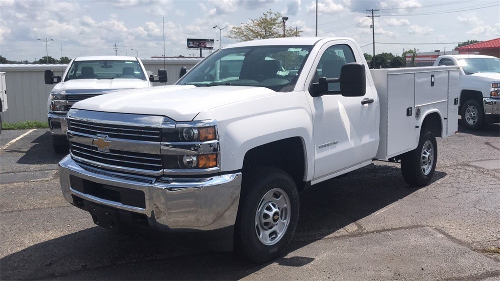 2018 Silverado 2500 Regular Cab 4x4,  Knapheide Service Body #CJZ129817 - photo 6