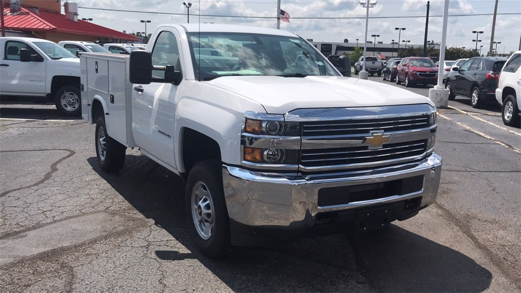 2018 Silverado 2500 Regular Cab 4x4,  Knapheide Service Body #CJZ129817 - photo 8