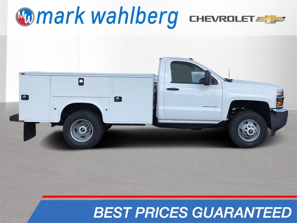 2018 Silverado 3500 Regular Cab DRW 4x4,  Knapheide Standard Service Body #CJZ152487 - photo 1
