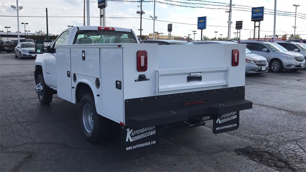 2018 Silverado 3500 Regular Cab DRW 4x4,  Knapheide Standard Service Body #CJZ152487 - photo 2