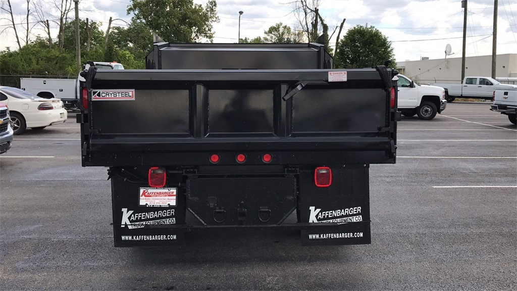 2018 Silverado 3500 Regular Cab DRW 4x4,  Crysteel Dump Body #CJZ252391 - photo 2