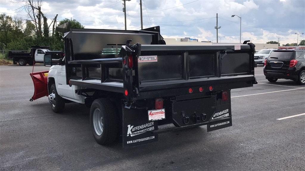 2018 Silverado 3500 Regular Cab DRW 4x4,  Crysteel Dump Body #CJZ252391 - photo 8