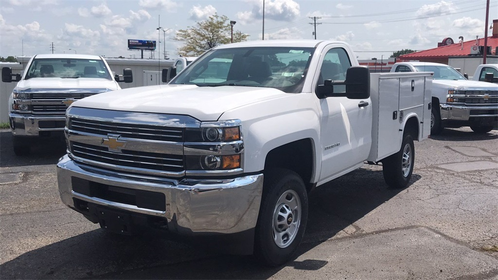 2018 Silverado 2500 Regular Cab 4x4,  Knapheide Service Body #CJZ252900 - photo 4