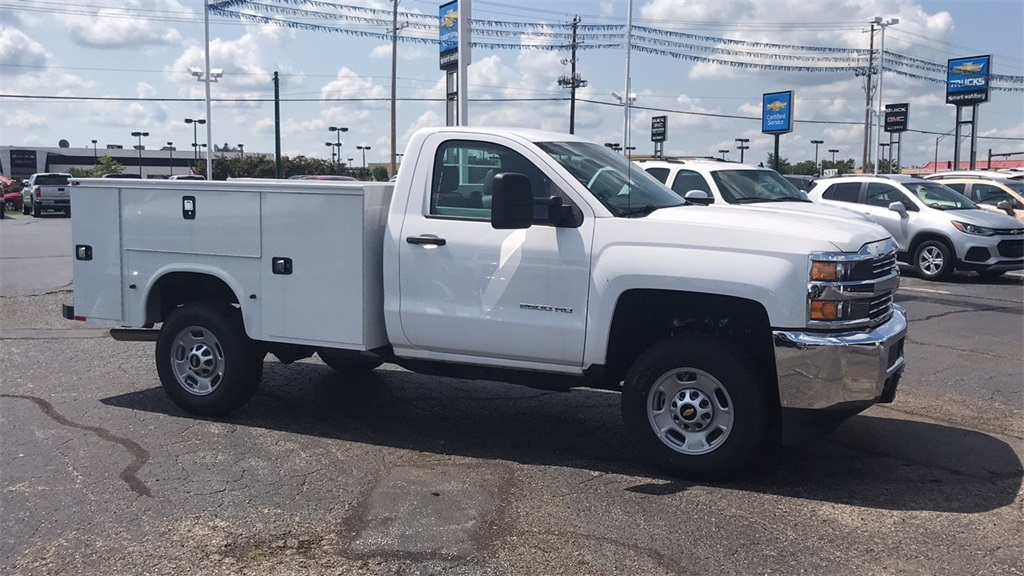 2018 Silverado 2500 Regular Cab 4x4,  Knapheide Service Body #CJZ252900 - photo 7