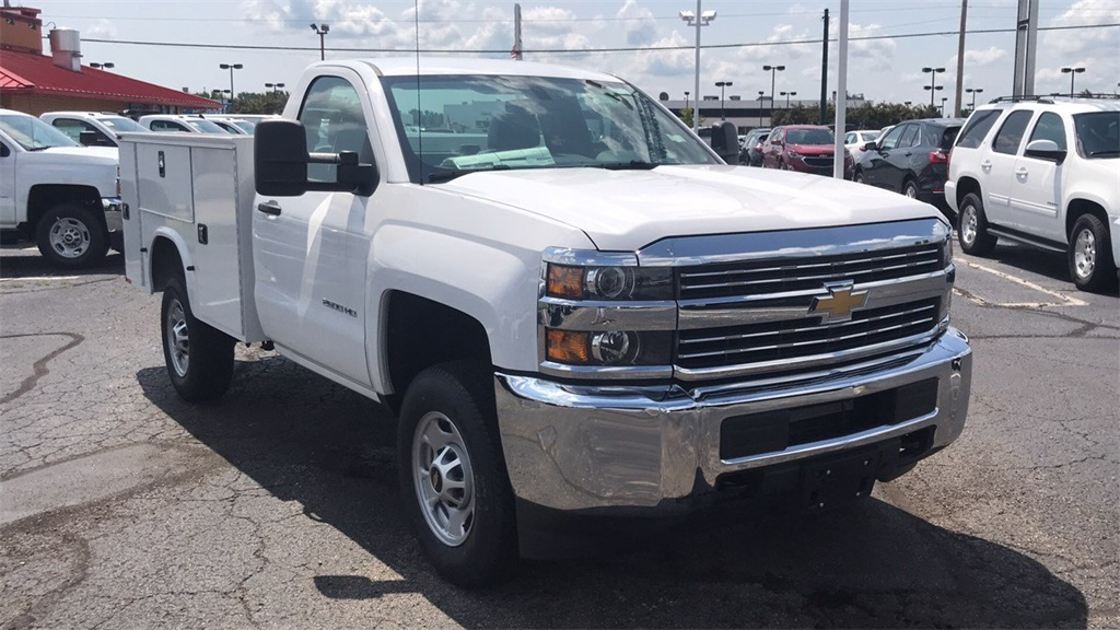 2018 Silverado 2500 Regular Cab 4x4,  Knapheide Service Body #CJZ257254 - photo 8