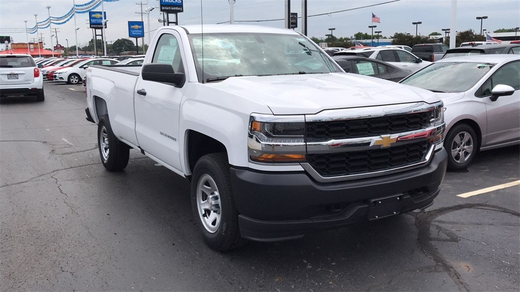2018 Silverado 1500 Regular Cab 4x4,  Pickup #CJZ275379 - photo 5