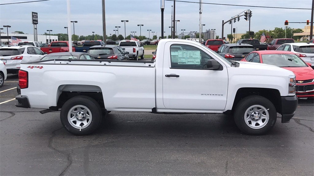 2018 Silverado 1500 Regular Cab 4x4,  Pickup #CJZ275379 - photo 6