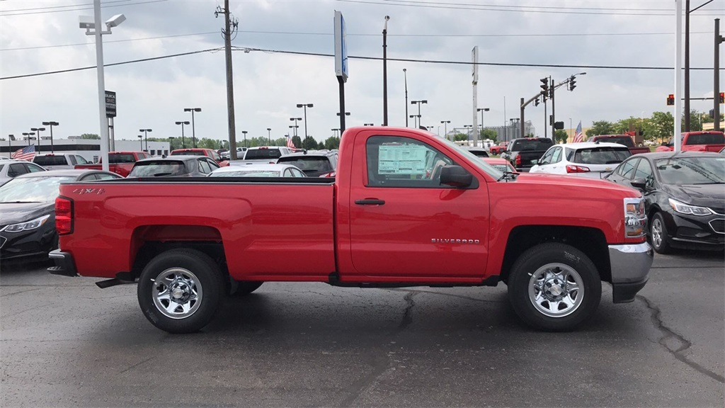 2018 Silverado 1500 Regular Cab 4x4,  Pickup #CJZ364621 - photo 6