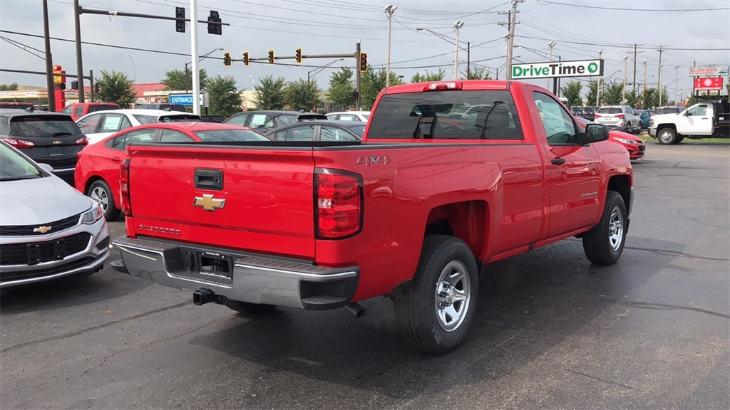 2018 Silverado 1500 Regular Cab 4x4,  Pickup #CJZ364621 - photo 7