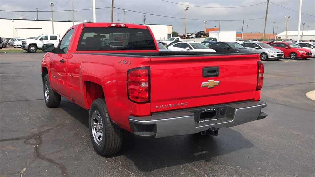 2018 Silverado 1500 Regular Cab 4x4,  Pickup #CJZ364621 - photo 8