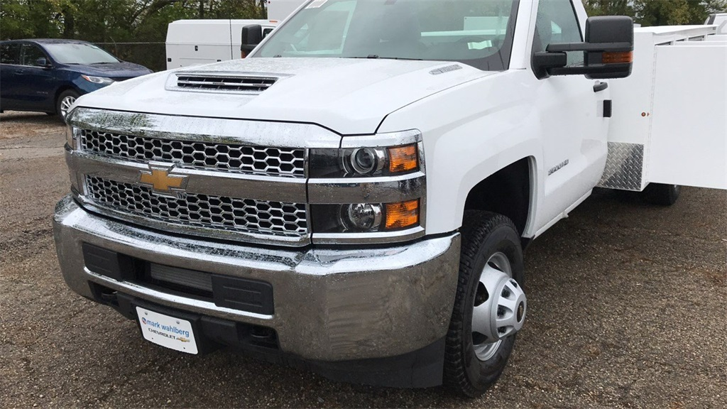 2019 Silverado 3500 Regular Cab DRW 4x4,  Duramag Service Body #CKF102663 - photo 27