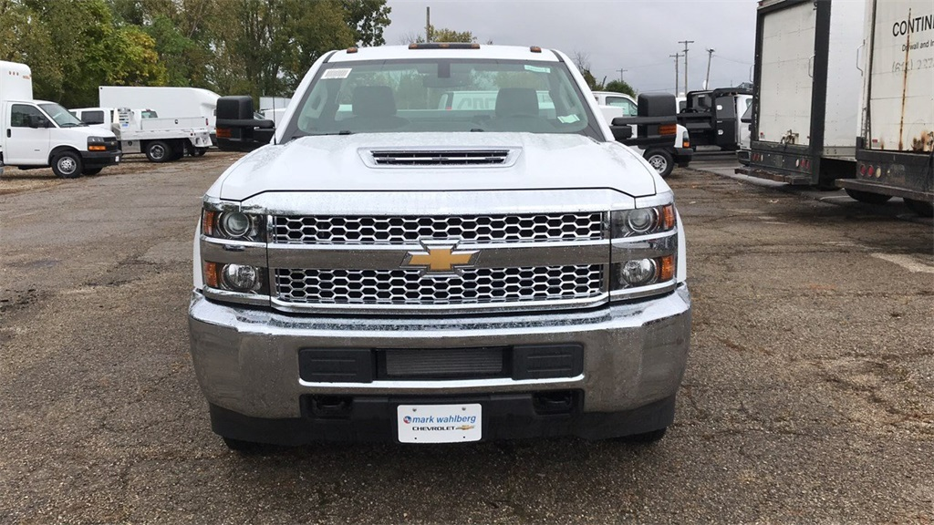 2019 Silverado 3500 Regular Cab DRW 4x4,  Duramag Service Body #CKF102663 - photo 5