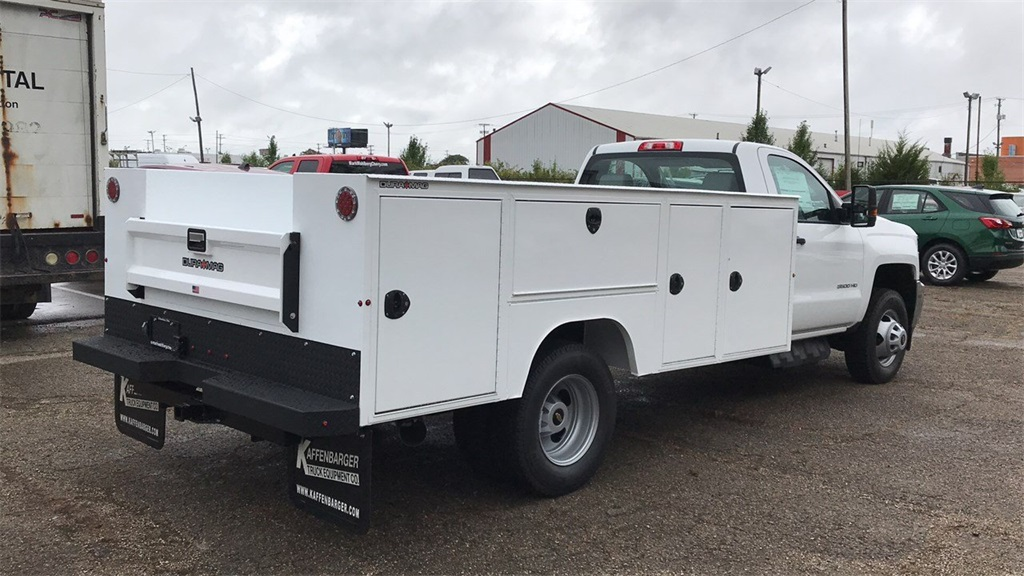 2019 Silverado 3500 Regular Cab DRW 4x4,  Duramag Service Body #CKF102663 - photo 6