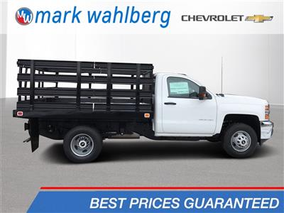 2019 Silverado 3500 Regular Cab DRW 4x2,  Knapheide Value-Master X Stake Bed #CKF106352 - photo 1