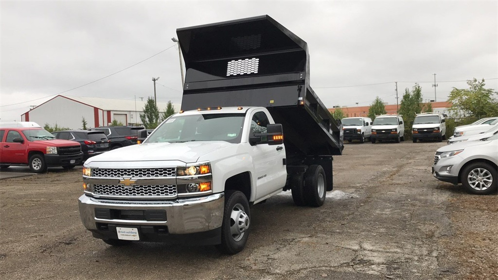 2019 Silverado 3500 Regular Cab DRW 4x2,  Knapheide Dump Body #CKF108340 - photo 4