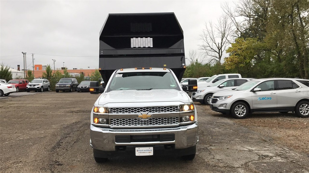 2019 Silverado 3500 Regular Cab DRW 4x2,  Knapheide Dump Body #CKF108340 - photo 5
