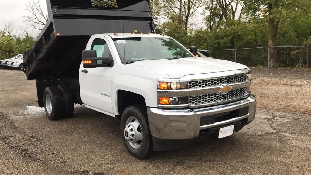 2019 Silverado 3500 Regular Cab DRW 4x2,  Knapheide Dump Body #CKF108340 - photo 7