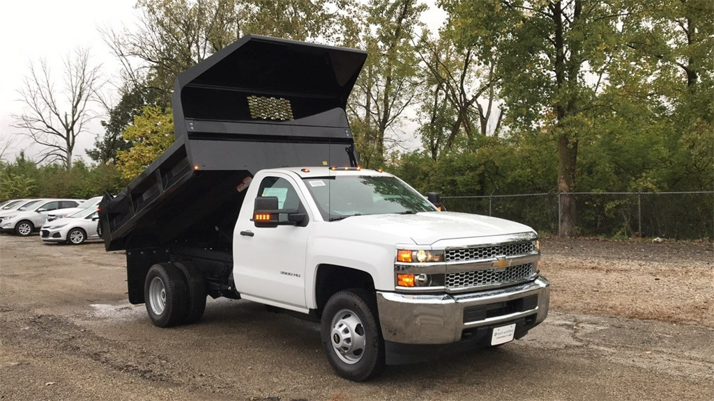 2019 Silverado 3500 Regular Cab DRW 4x2,  Knapheide Dump Body #CKF108340 - photo 8