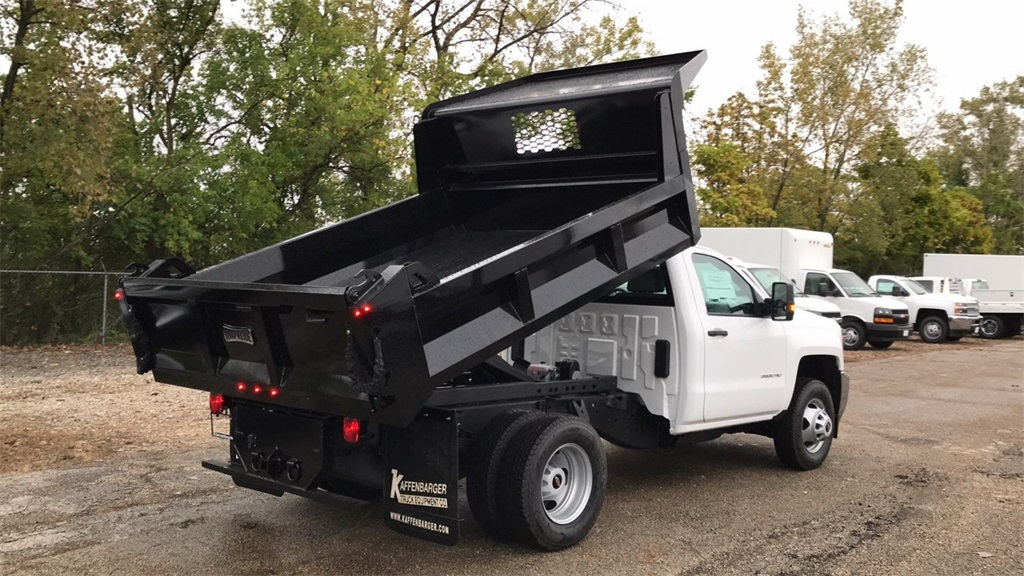 2019 Silverado 3500 Regular Cab DRW 4x2,  Knapheide Dump Body #CKF108340 - photo 3