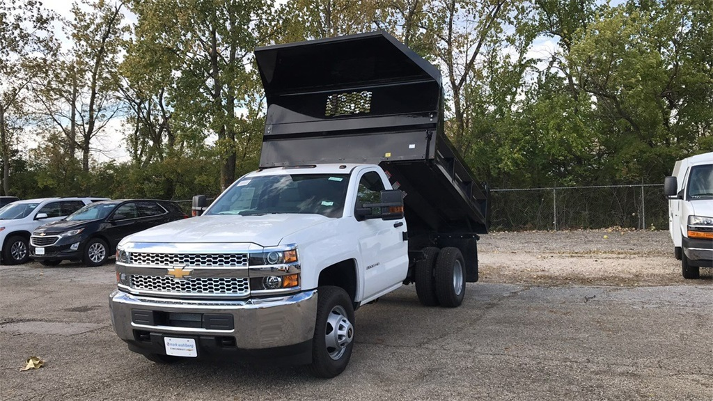 2019 Silverado 3500 Regular Cab DRW 4x2,  Knapheide Dump Body #CKF108974 - photo 3