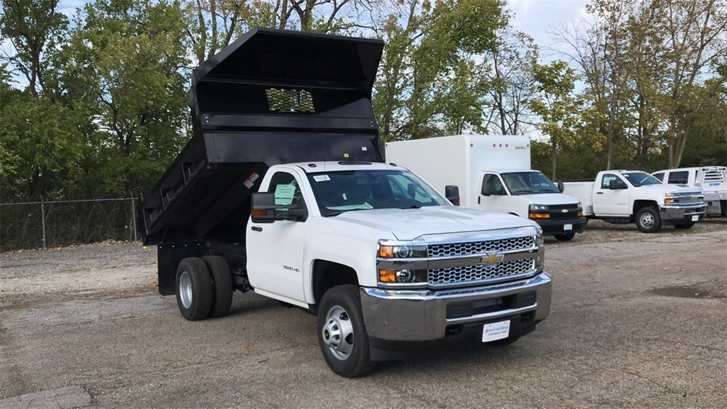 2019 Silverado 3500 Regular Cab DRW 4x2,  Knapheide Dump Body #CKF108974 - photo 5