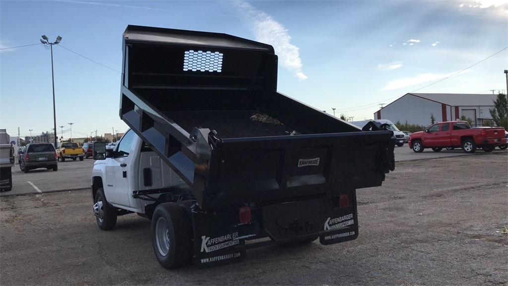 2019 Silverado 3500 Regular Cab DRW 4x2,  Knapheide Dump Body #CKF108974 - photo 2