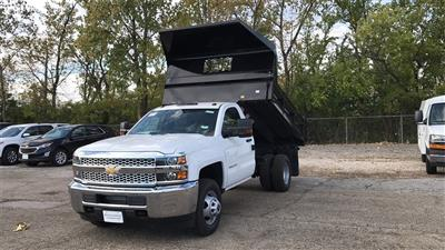 2019 Silverado 3500 Regular Cab DRW 4x2,  Knapheide Rigid Side Dump Body #CKF108974 - photo 3