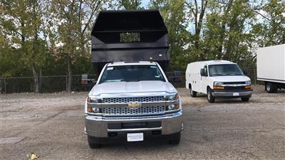 2019 Silverado 3500 Regular Cab DRW 4x2,  Knapheide Rigid Side Dump Body #CKF108974 - photo 4