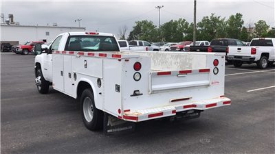 2014 Silverado 3500 Regular Cab 4x2,  Cab Chassis #CP110690 - photo 7