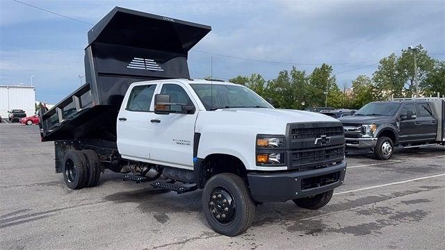 2020 Silverado 5500 Crew Cab DRW 4x4,  Crysteel E-Tipper Dump Body #CX0T089936 - photo 5