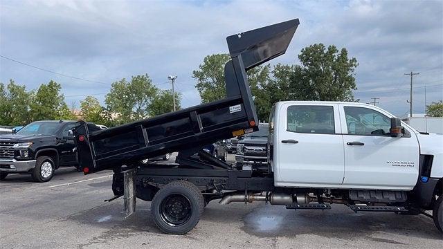 2020 Silverado 5500 Crew Cab DRW 4x4,  Crysteel E-Tipper Dump Body #CX0T089936 - photo 6
