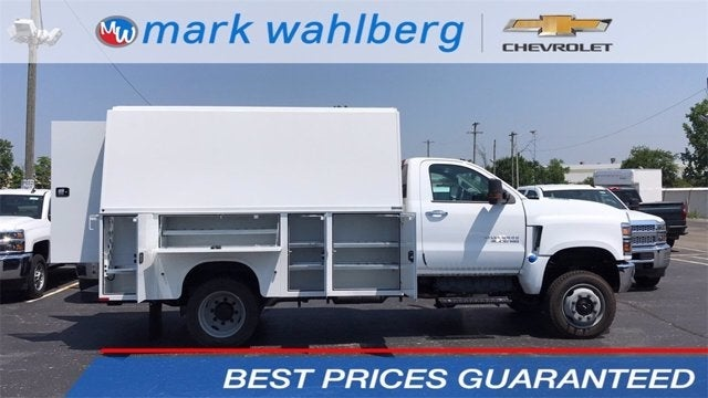 2020 Chevrolet Silverado 4500 Regular Cab DRW 4x4, Knapheide Service Body #CX0T191364 - photo 1