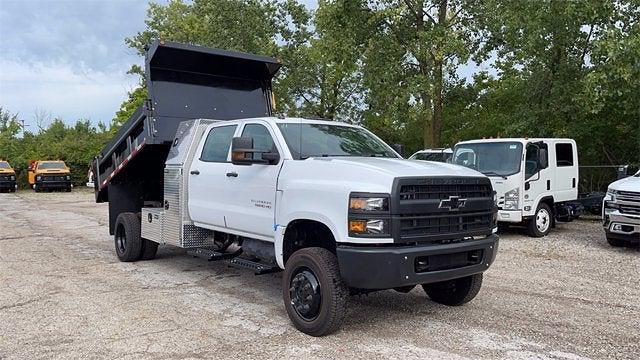 2021 Silverado 5500 Crew Cab DRW 4x4,  Galion Dump Body #CX1T268800 - photo 5